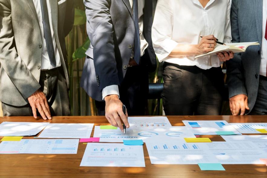Com um organograma definido é possível delimitar tarefas e desenvolver estratégias de operação.